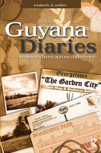 Guyana Diaries Women's Lives Across Difference book cover