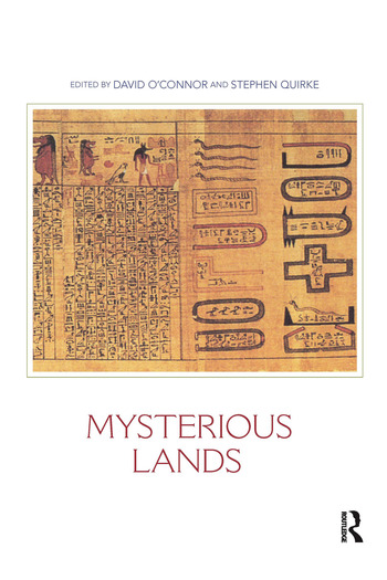 Mysterious Lands book cover