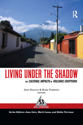 Living Under the Shadow Cultural Impacts of Volcanic Eruptions book cover
