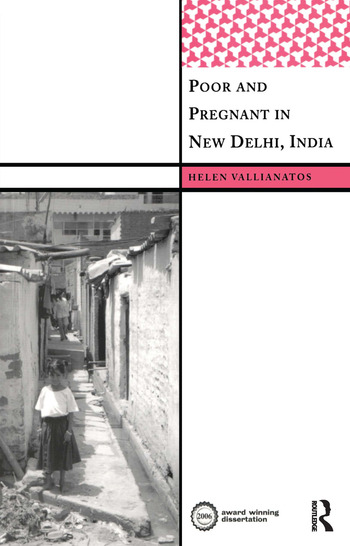 Poor and Pregnant in New Delhi, India book cover