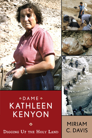 Dame Kathleen Kenyon Digging Up the Holy Land book cover