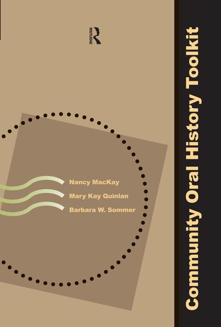 Community Oral History Toolkit book cover