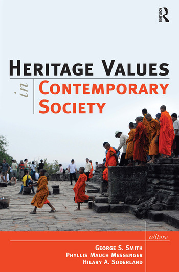 Heritage Values in Contemporary Society book cover