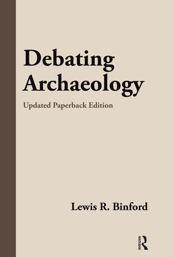 Debating Archaeology Updated Edition book cover