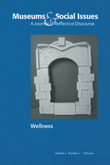 Pursuing Wellness Museums & Social Issues 5:2 Thematic Issue book cover