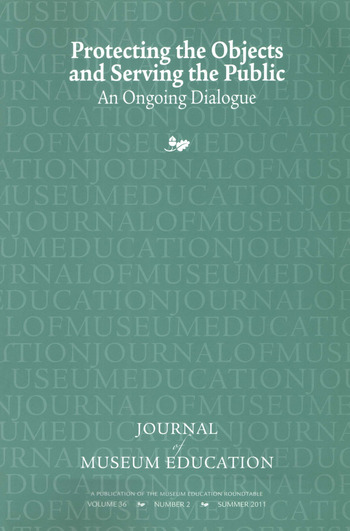 Protecting the Objects and Serving the Public Journal of Museum Education 36:2 Thematic Issue book cover