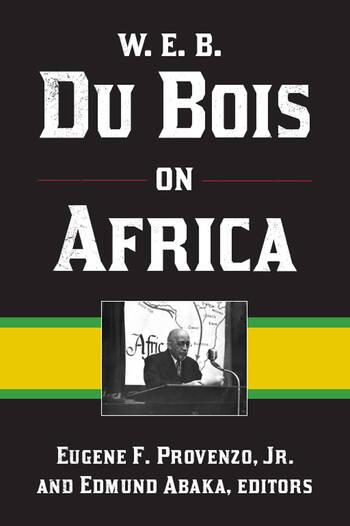 W. E. B. Du Bois on Africa book cover