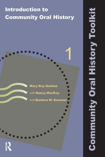 Introduction to Community Oral History book cover