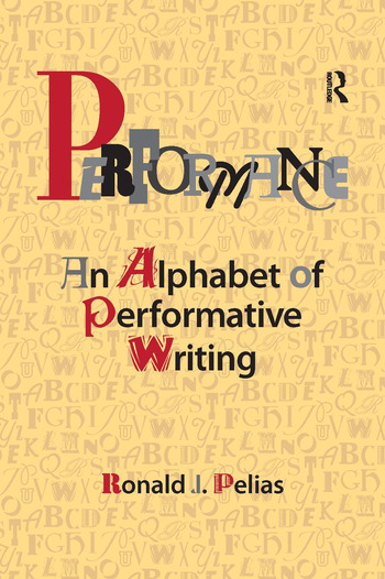 Performance An Alphabet of Performative Writing book cover