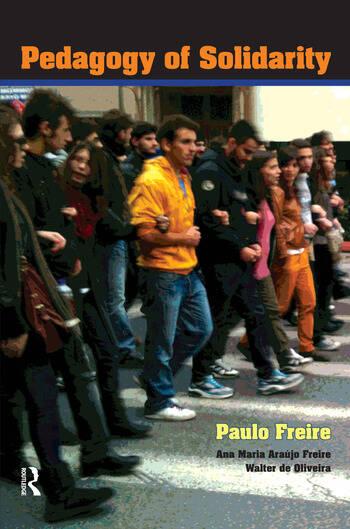 Pedagogy of Solidarity book cover