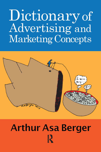 Dictionary of Advertising and Marketing Concepts book cover