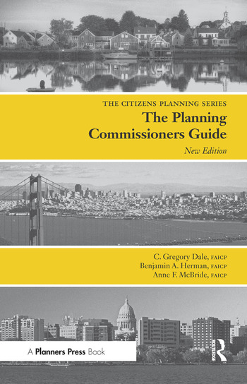 Planning Commissioners Guide Processes for Reasoning Together book cover
