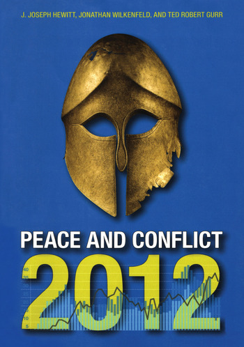 Peace and Conflict 2012 book cover