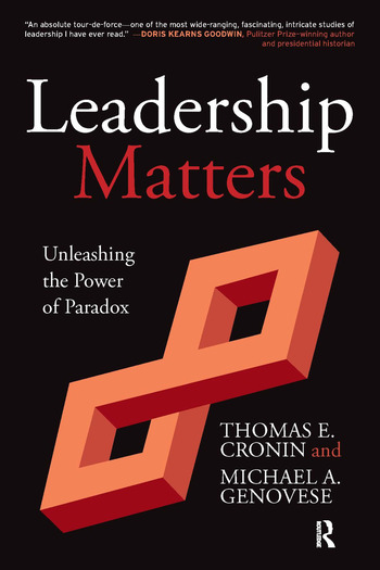 Leadership Matters Unleashing the Power of Paradox book cover
