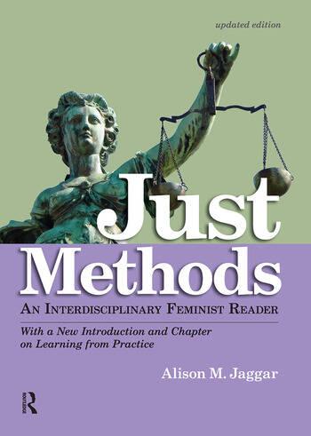 Just Methods An Interdisciplinary Feminist Reader book cover