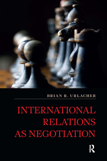 International Relations as Negotiation book cover