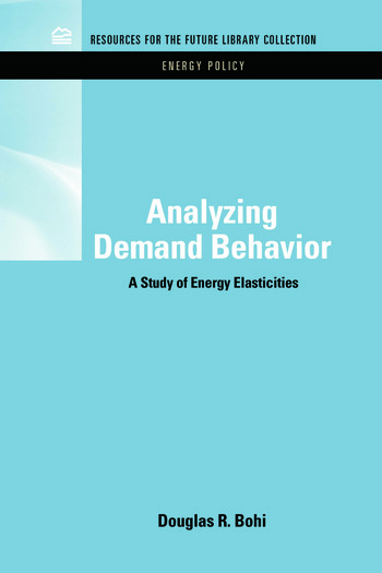 RFF Energy Policy Set book cover