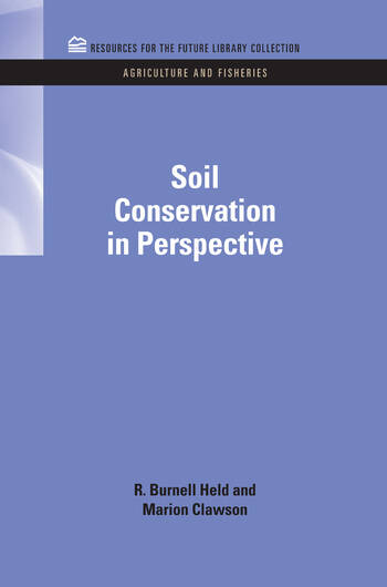 Soil Conservation in Perspective book cover