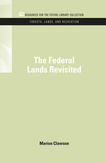 The Federal Lands Revisited book cover