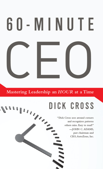 60-Minute CEO Mastering Leadership an Hour at a Time book cover