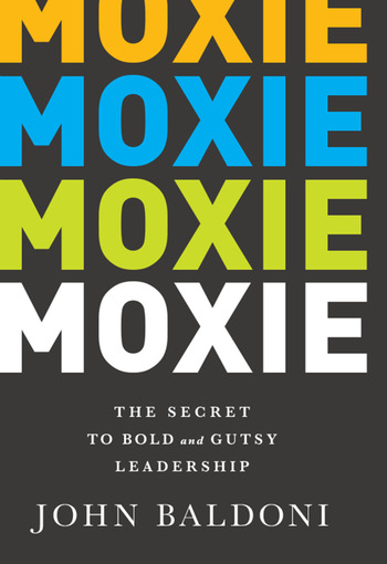 Moxie The Secret to Bold and Gutsy Leadership book cover