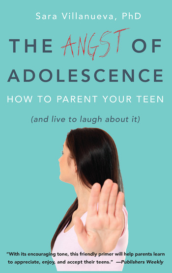 Angst of Adolescence How to Parent Your Teen and Live to Laugh About It book cover