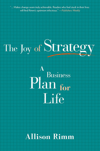 Joy of Strategy A Business Plan for Life book cover