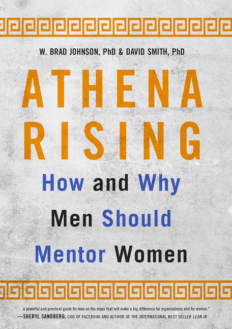 Athena Rising How and Why Men Should Mentor Women book cover