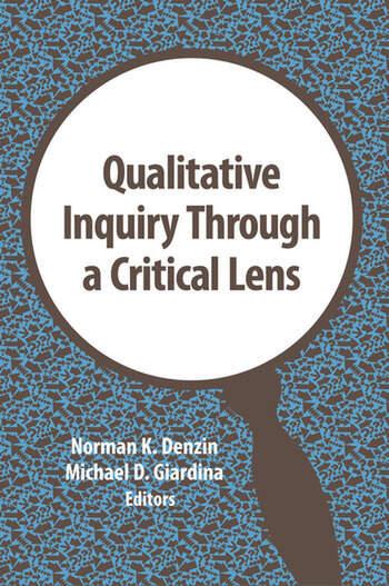 Qualitative Inquiry Through a Critical Lens book cover