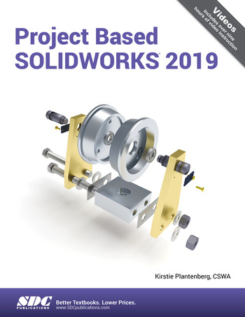 Project Based SOLIDWORKS 2019 book cover