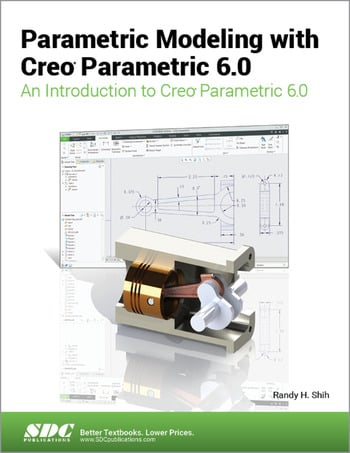 Parametric Modeling with Creo Parametric 6.0 book cover