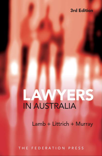 Lawyers in Australia book cover