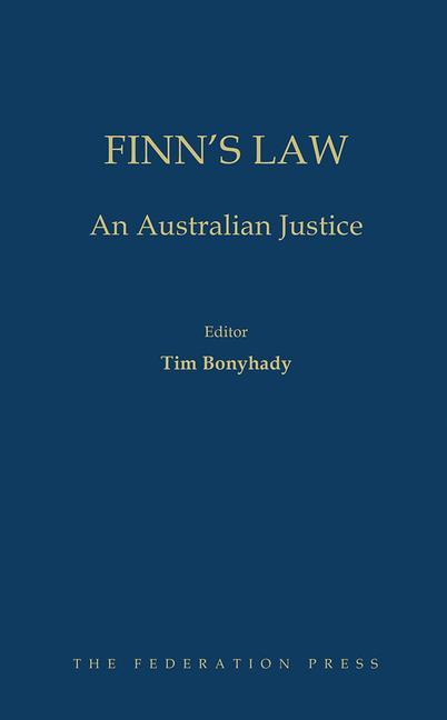Finn's Law An Australian Justice book cover