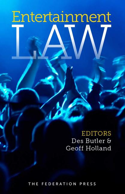 Entertainment Law book cover