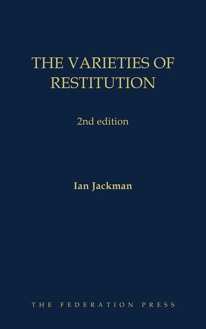 The Varieties of Restitution 2nd edition book cover