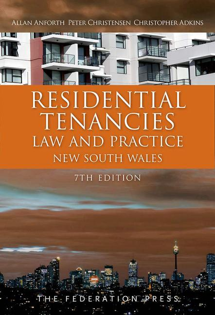 Residential Tenancies Law and Practice book cover