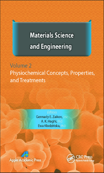 Materials Science and Engineering, Volume II Physiochemical Concepts, Properties, and Treatments book cover