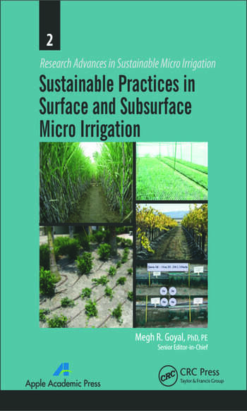 Sustainable Practices in Surface and Subsurface Micro Irrigation book cover