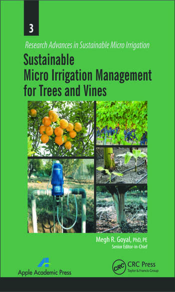 Sustainable Micro Irrigation Management for Trees and Vines book cover