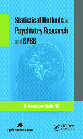 Statistical Methods in Psychiatry Research and SPSS book cover