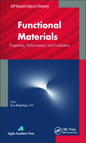 Functional Materials Properties, Performance and Evaluation book cover