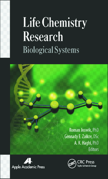Life Chemistry Research Biological Systems book cover