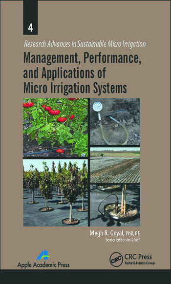 Management, Performance, and Applications of Micro Irrigation Systems book cover
