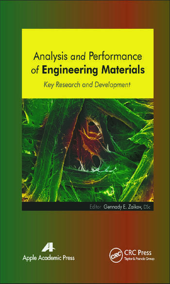 Analysis and Performance of Engineering Materials Key Research and Development book cover