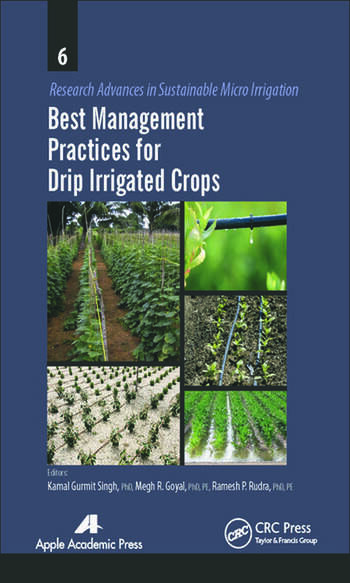 Best Management Practices for Drip Irrigated Crops book cover