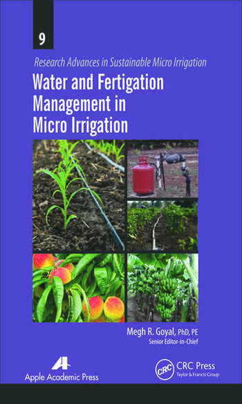 Water and Fertigation Management in Micro Irrigation book cover