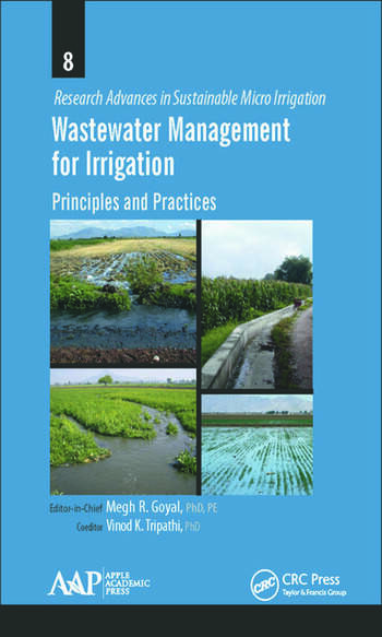 Wastewater Management for Irrigation Principles and Practices book cover