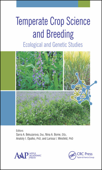 Temperate Crop Science and Breeding Ecological and Genetic Studies book cover