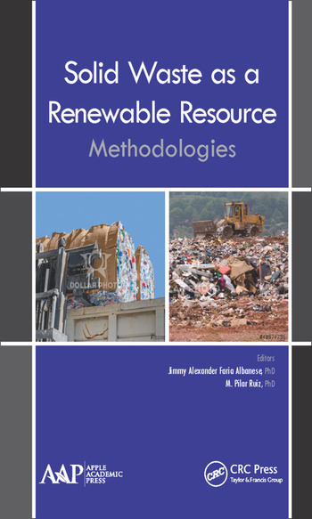 Solid Waste as a Renewable Resource Methodologies book cover