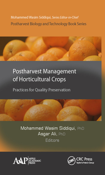 Postharvest Management of Horticultural Crops Practices for Quality Preservation book cover